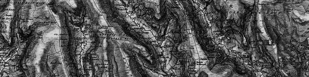 Old map of Woodstock Bower in 1898