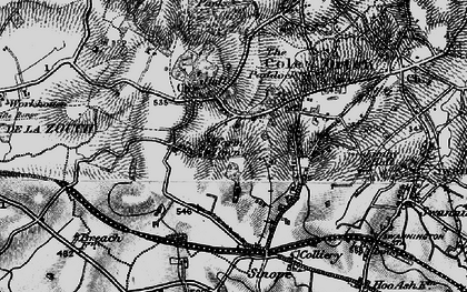 Old map of Alton Hill in 1895