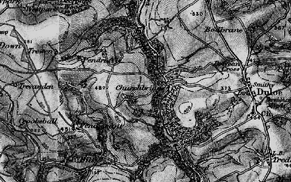 Old map of Churchbridge in 1896