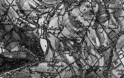 Old map of Lime Kiln Nook in 1897