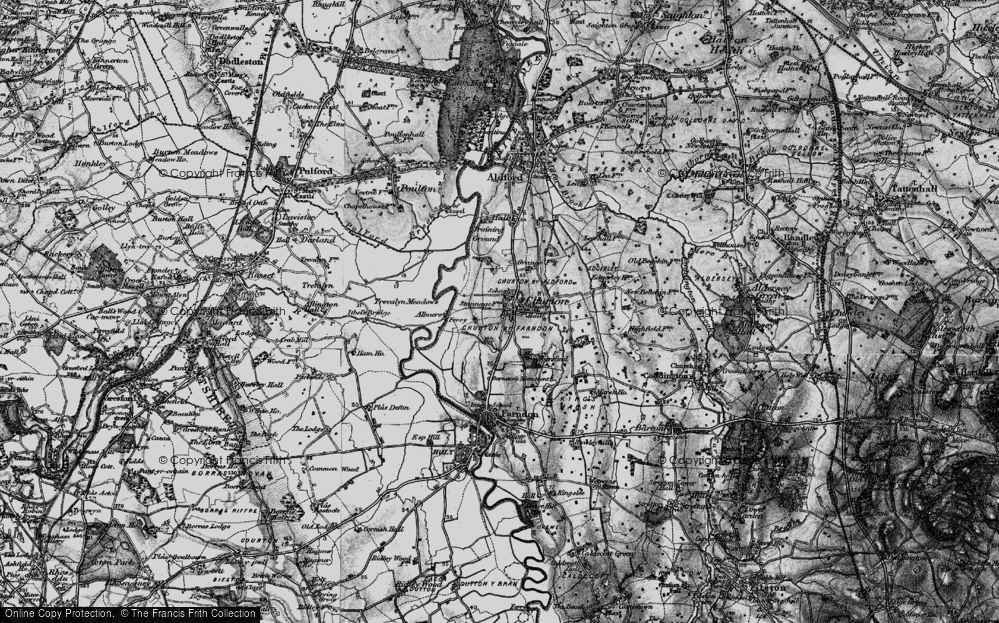 Old Map of Historic Map covering Almere in 1897