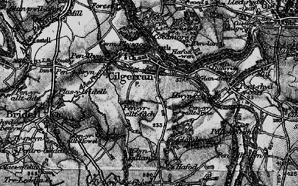 Old map of Allt-y-rheiny in 1898