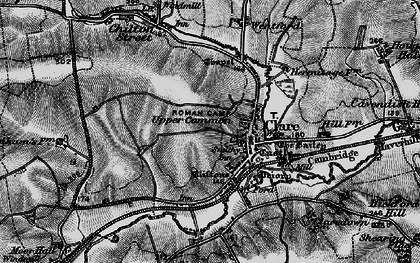 Old map of Clare in 1895