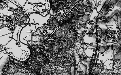 Old map of Claremont Park in 1896