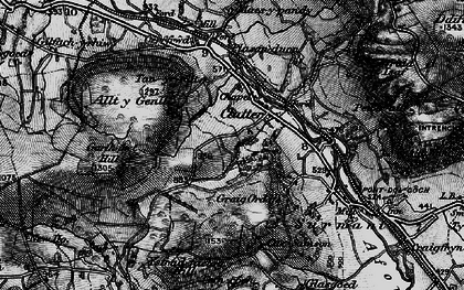 Old map of Allt y Genlli in 1899