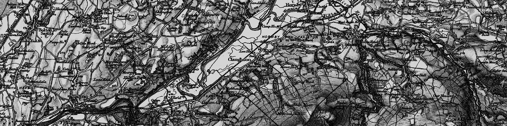 Old map of Whit Moor in 1898