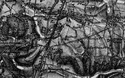 Old map of Clayton in 1895