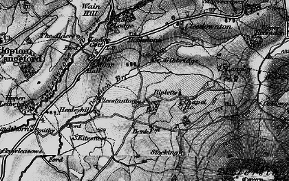 Old map of Cleestanton in 1899