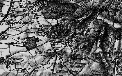 Old map of Adam's Hill in 1899