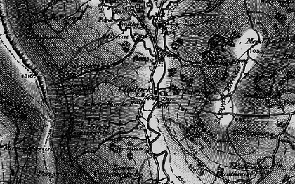 Old map of Clodock in 1896