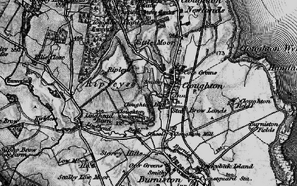 Old map of Cloughton in 1897