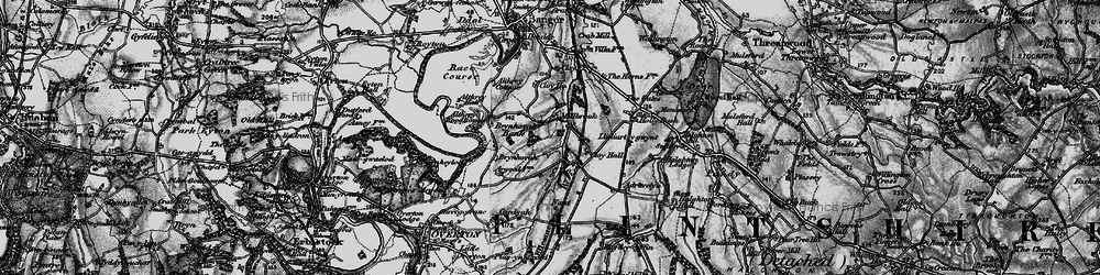 Old map of Adra-felin in 1897
