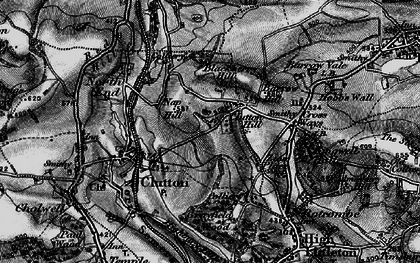 Old map of Zion Place in 1898