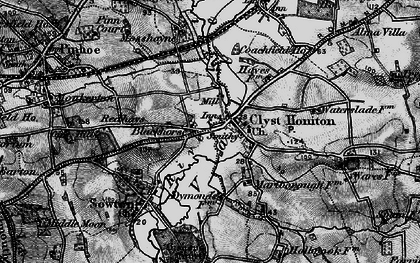 Old map of Wroford Manor in 1898