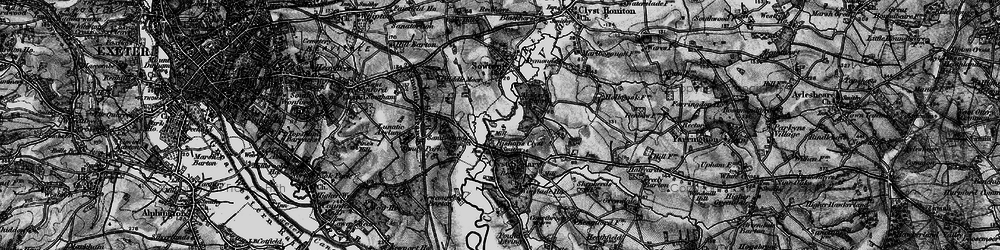 Old map of Winslade Park in 1898