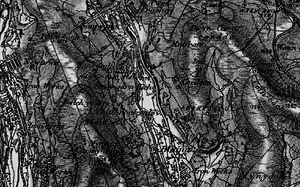 Old map of Coalbrookvale in 1897