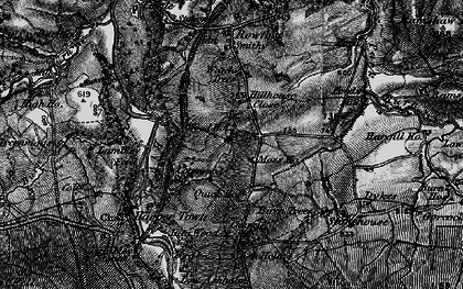 Old map of Ashholme in 1897