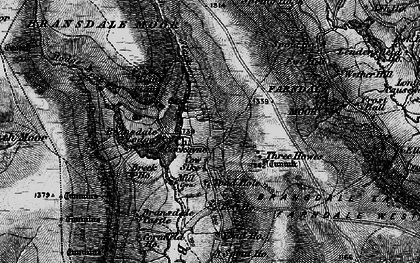 Old map of Ash Ho in 1898