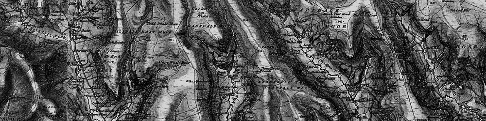 Old map of Toad Hole in 1898
