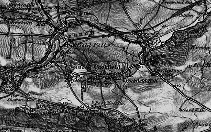 Old map of Cockfield in 1897