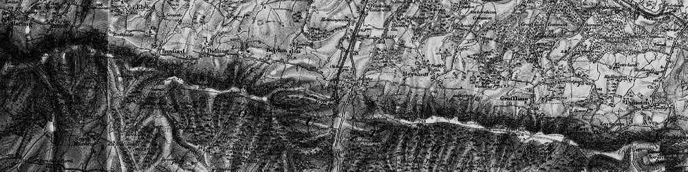 Old map of Cocking in 1895