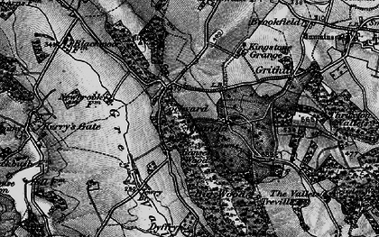 Old map of Banses Wood in 1896