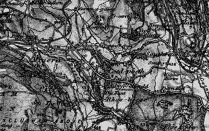 Old map of Coedpoeth in 1897