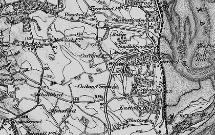 Old map of Cofton in 1898