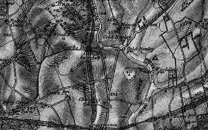Old map of Whitnal in 1895