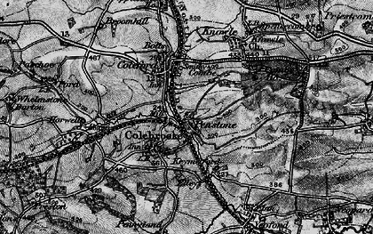 Old map of Whelmstone Barton in 1898