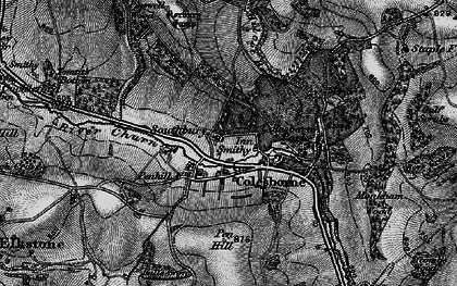 Old map of Colesbourne in 1896