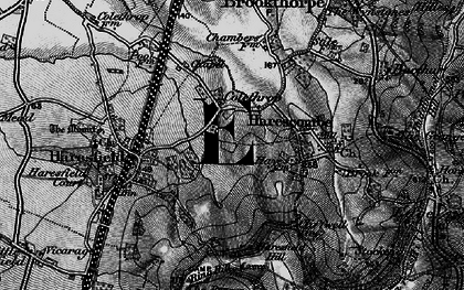 Old map of Colethrop in 1896