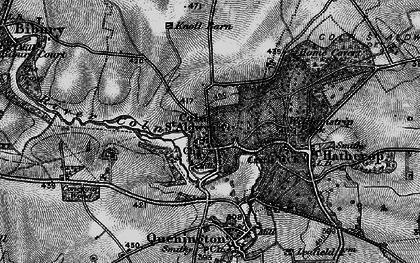 Old map of Coln St Aldwyns in 1896