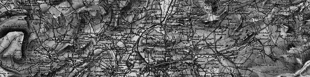 Old map of Alkincoats in 1898