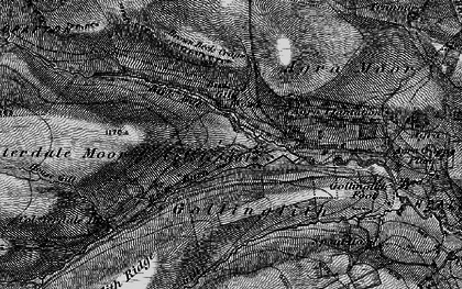 Old map of Baldcar Head in 1897