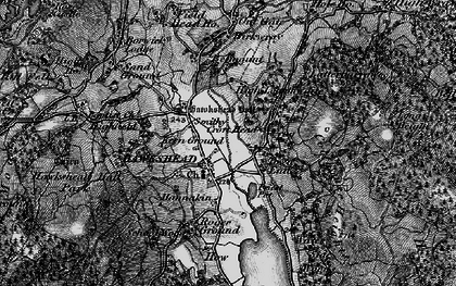 Old map of Colthouse in 1897