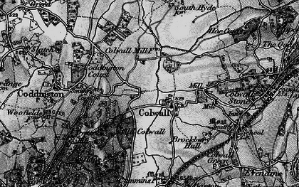 Old map of Colwall in 1898