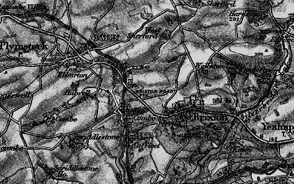 Old map of West Sherford in 1897