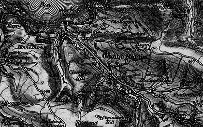 Old map of Wild Pear Beach in 1898