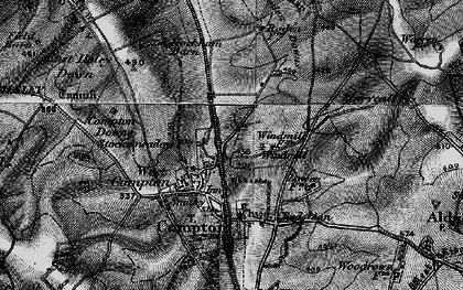 Old map of Agricultural Research Council's Field Station in 1895