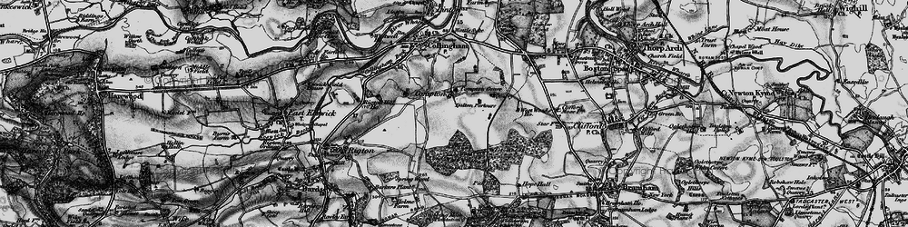 Old map of Wothersome in 1898