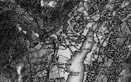 Old map of Coniston in 1897