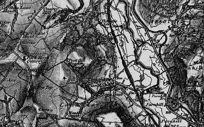 Old map of Cononley in 1898