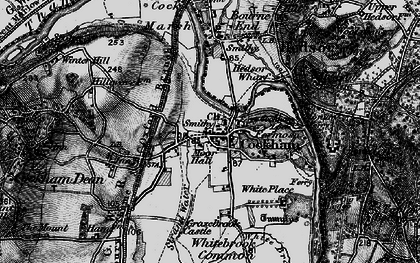 Old map of Widbrook Common in 1895