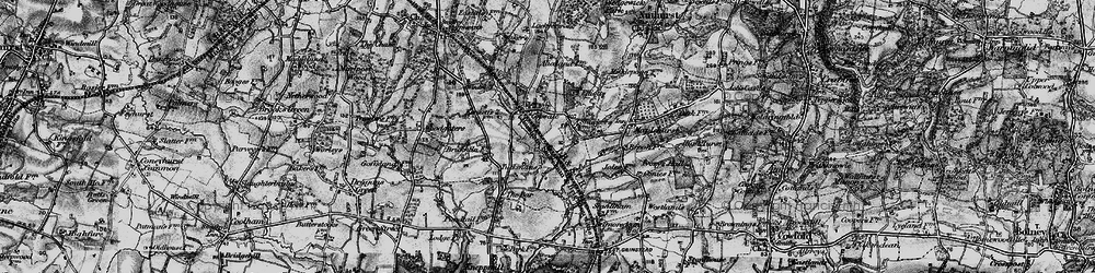 Old map of Alicelands in 1895