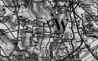 Old map of Lapworth Park in 1898