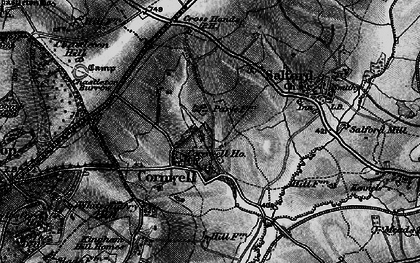 Old map of Whitequarry Hill in 1896