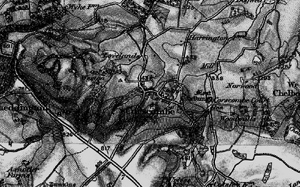 Old map of Woodwalls in 1898