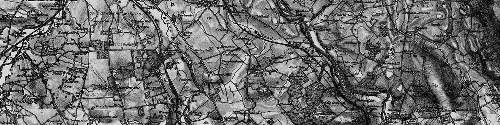 Old map of Wragmire Bank in 1897