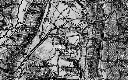 Old map of South Wood Fm in 1898